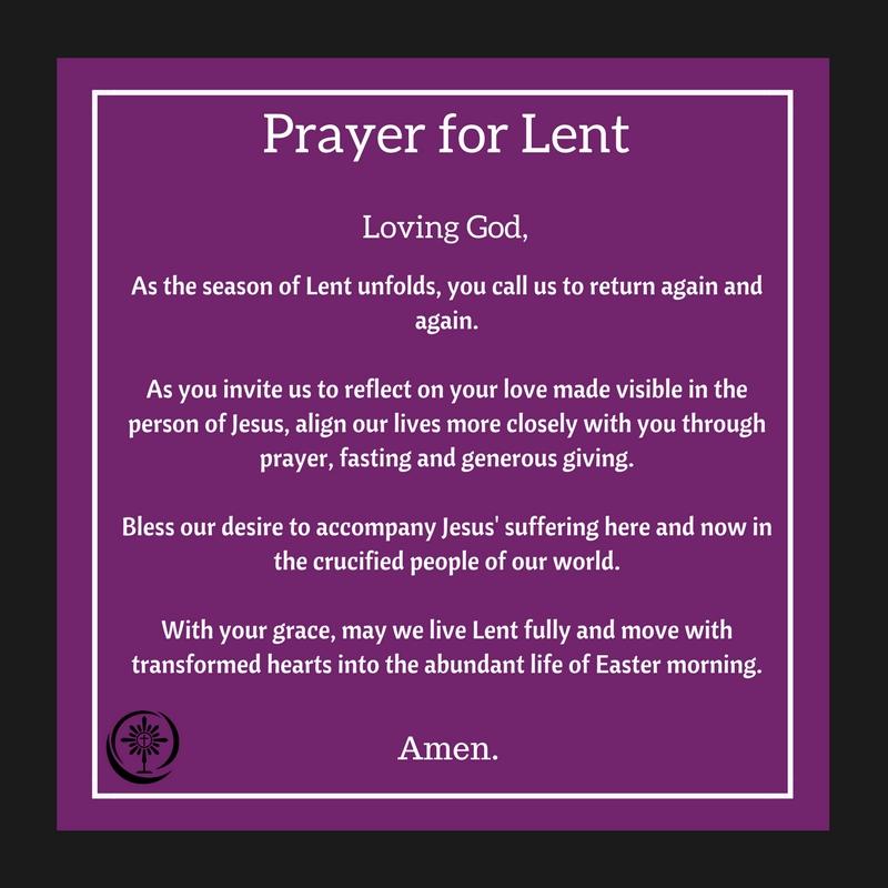 Image result for prayer for lent